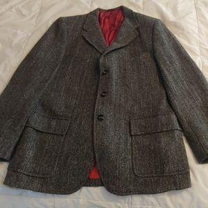 Harris Tweed Herringbone Sport Coat